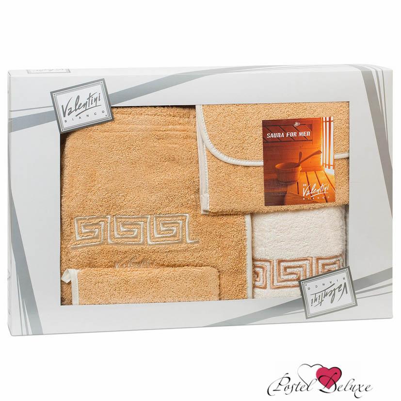 Набор для сауны ValentiniНаборы для сауны<br>Производитель: Valentini<br>Страна производства: Португалия<br>В набор входят: парео, полотенце 70х140 см, рукавица-мочалка, сумочка<br>Набор украшен вышивкой.<br>Состав: 100% Хлопок<br><br>Тип: набор для сауны<br>Размерность комплекта: None<br>Материал: Махра<br>Размер наволочки: None<br>Подарочная упаковка: None<br>Для детей: нет<br>Ткань: Махра<br>Цвет: None