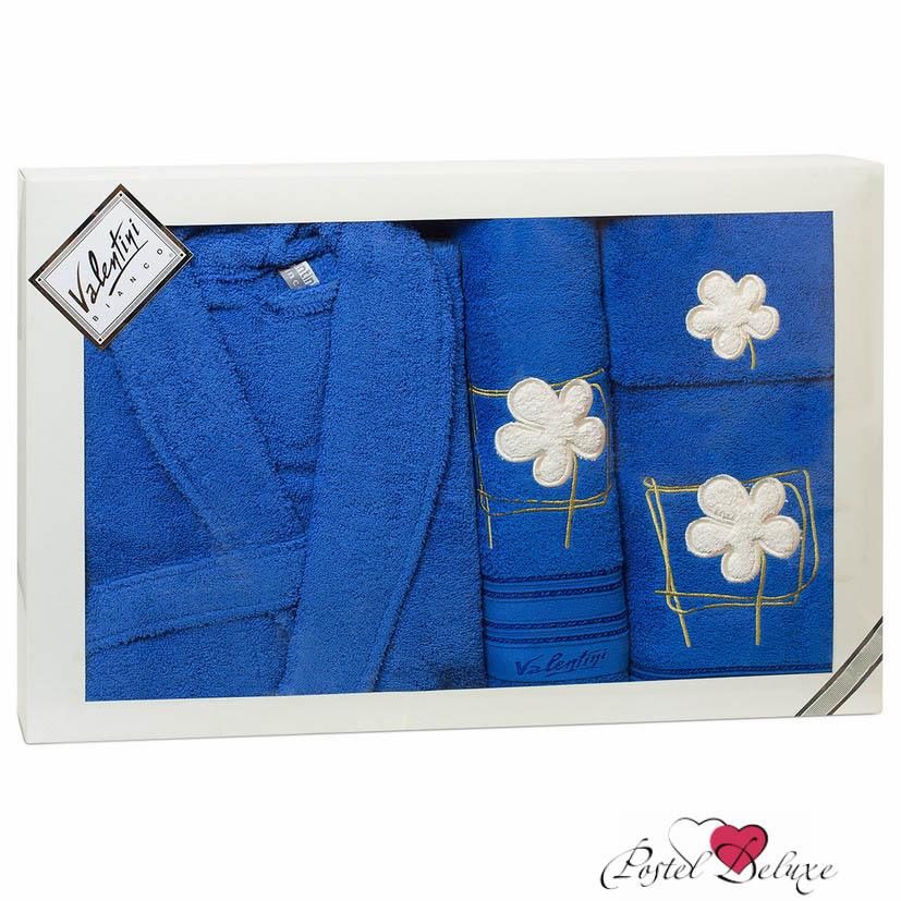 Valentini Халат Flower Цвет: Синий (L)