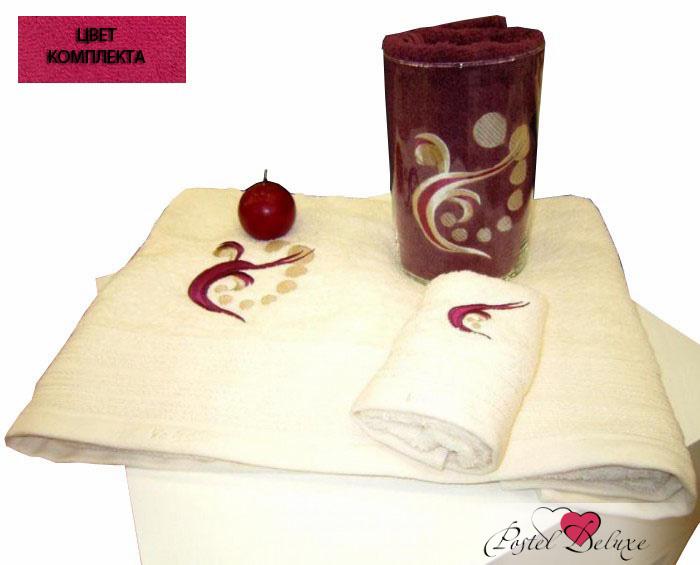 Полотенца Valentini Полотенце Valentini Цвет: Фуксия (Набор) полотенца eleganta полотенце anetta цвет темная фуксия набор