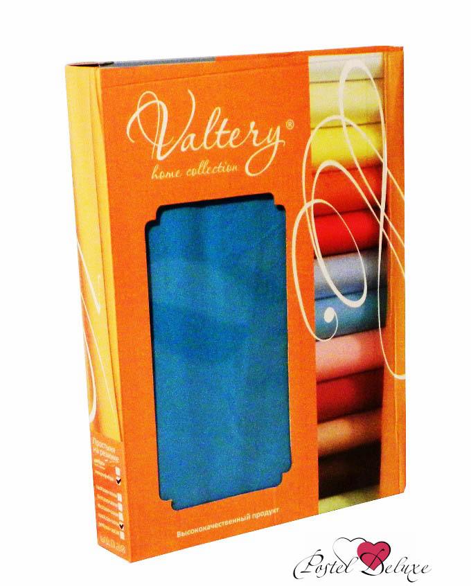 где купить Простыни Valtery Простыня на резинке Layla Цвет: Серый (90х200 см) по лучшей цене