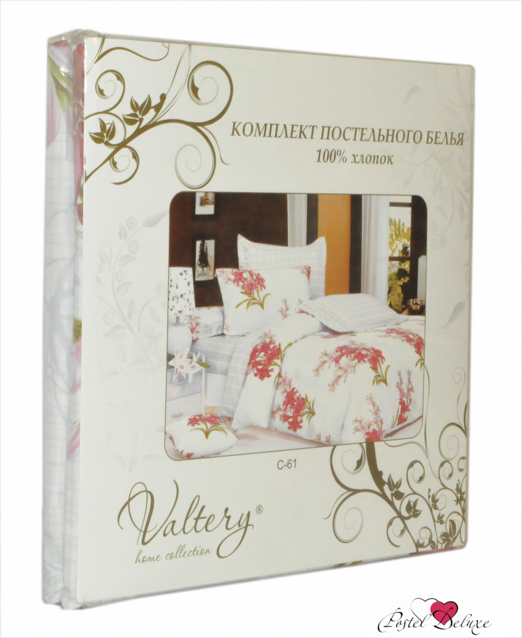 где купить  Постельное белье Valtery Постельное белье Cherilyn  (2 сп. евро)  по лучшей цене