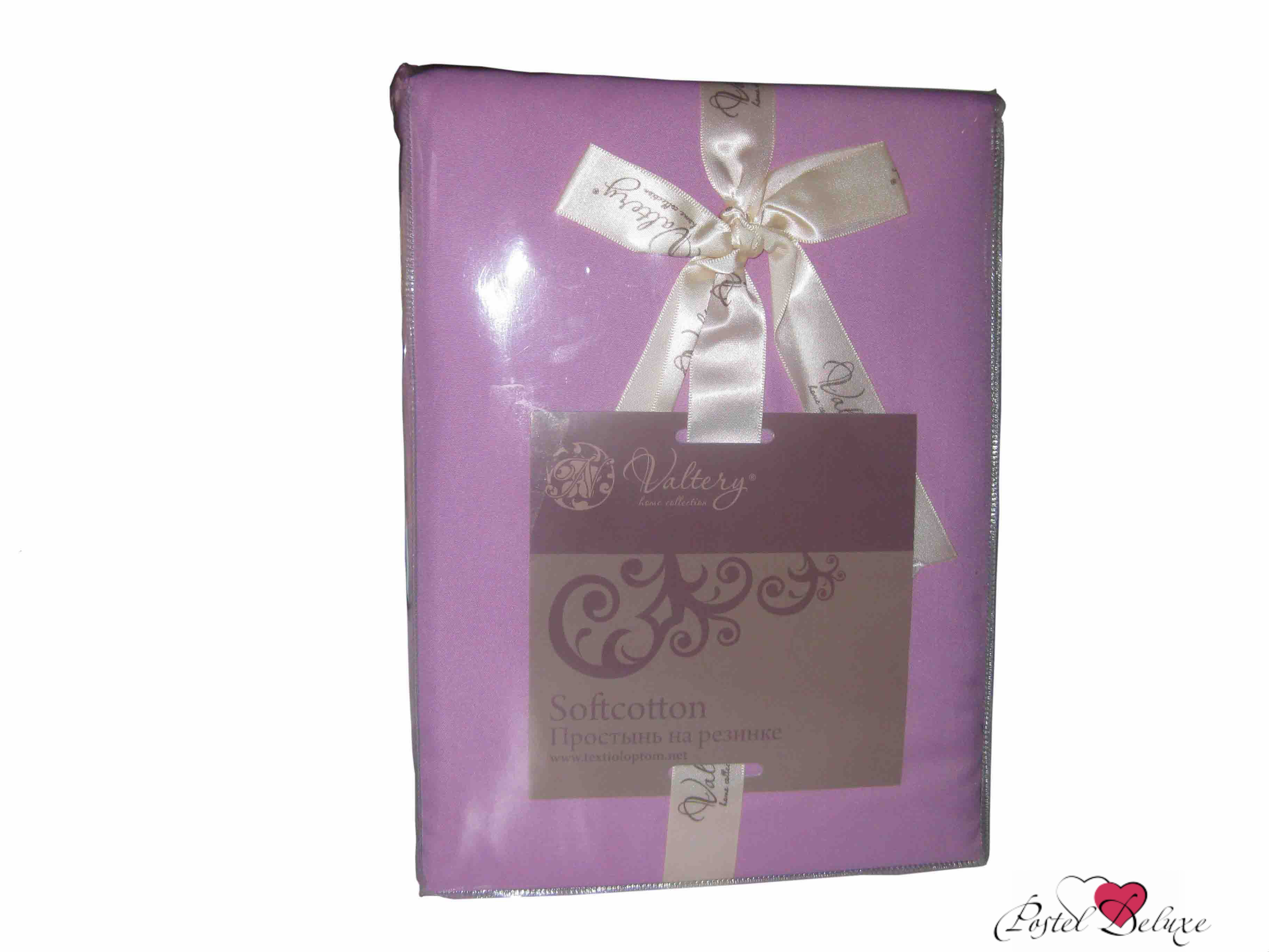 где купить Простыни Valtery Простыня на резинке Joleen Цвет: Серый по лучшей цене