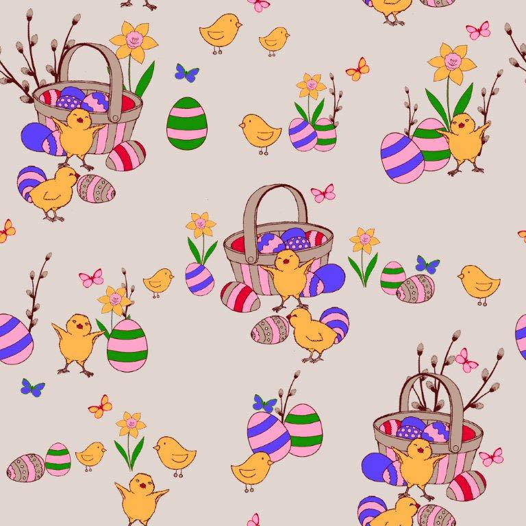 Кухонный набор Василиса Василиса Кухонный набор из 3 полотенец Пасхальные Цыплята Цвет: Вареный vas181968