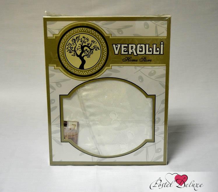 Скатерть VerolliСкатерти<br>Производитель: Verolli<br>Страна производства: Турция<br>Материал: Полиэстер<br>Размер скатерти: круглая 160 см (диаметр)<br>Упаковка: Подарочная коробка<br><br>Тип: скатерть<br>Размерность комплекта: None<br>Материал: Полиэстер<br>Размер наволочки: None<br>Подарочная упаковка: None<br>Для детей: нет<br>Ткань: Полиэстер<br>Цвет: Белый