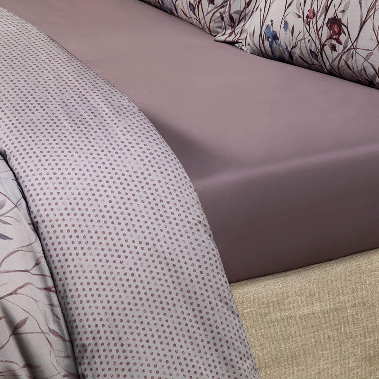 где купить  Простыни Togas Простыня на резинке Виолетта Цвет: Фиолетовый (200х200)  по лучшей цене