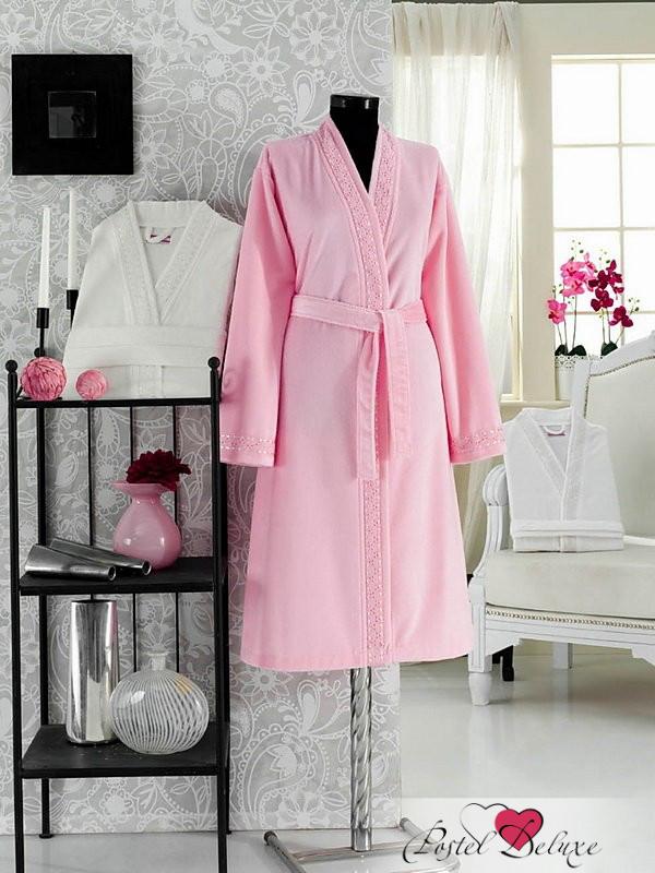 Сауны, бани и оборудование Virginia Secret Халат Lavone Цвет: Розовый (M-L) virginia secret virginia secret халат lavone цвет розовый l хl