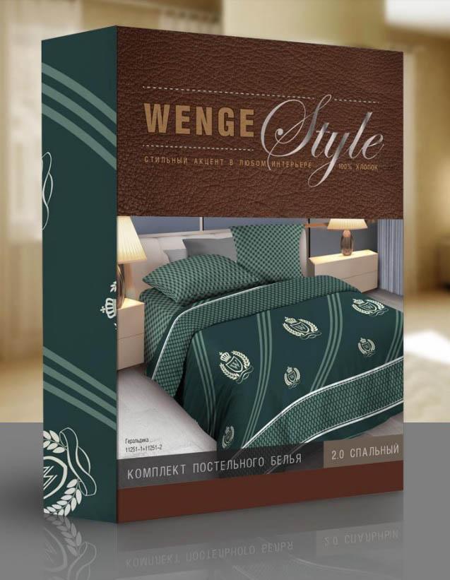 Постельное белье WENGE Постельное белье Belvedere (2 сп. евро) belvedere коррекция объ ма