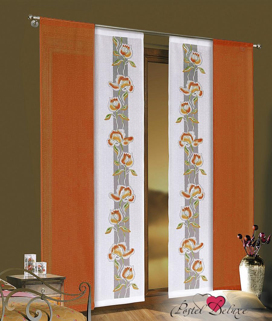 Шторы Wisan Японские шторы Coco Цвет: Оранжевый салон штор карниз гардины тольятти