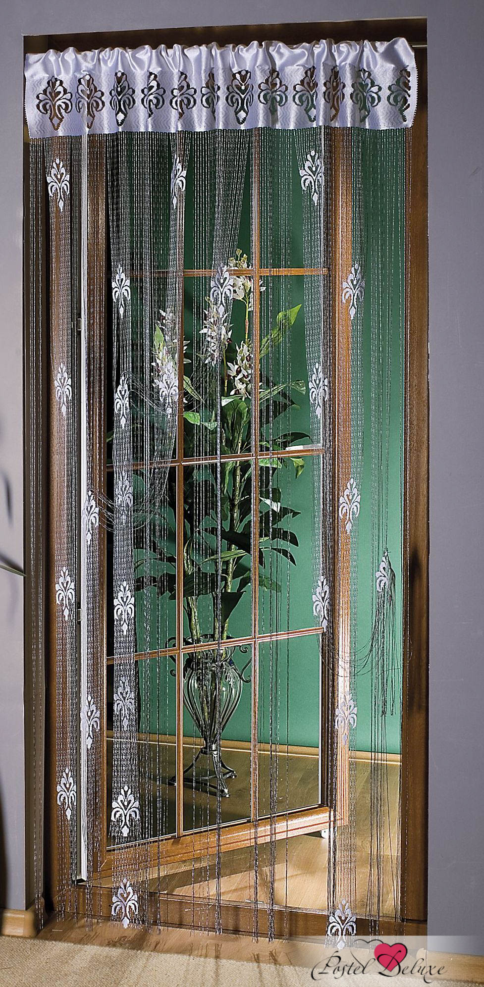 Шторы Wisan Нитяные шторы Joshua Цвет: Серебро wisan wisan нитяные шторы joelle цвет кремовый бежевый