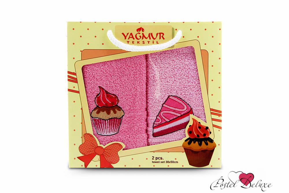 Кухонный набор YagmurКухонные наборы<br>Производитель: Yagmur<br>Страна производства: Турция<br>Материал: Махра (100% Хлопок)<br>Размер: 30х50 см (2 шт.)<br>Особенности: Комплект в коробке, украшен вышивкой.<br><br>Тип: кухонный набор<br>Размерность комплекта: None<br>Материал: Махра с вышивкой<br>Размер наволочки: None<br>Подарочная упаковка: None<br>Для детей: нет<br>Ткань: Махра с вышивкой<br>Цвет: Розовый