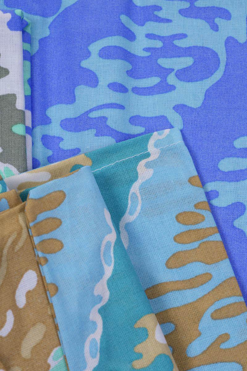 где купить  Детское Постельное белье Хлопковый Край Постельное белье Zigzag Цвет: Зеленый (150х200 см)  по лучшей цене